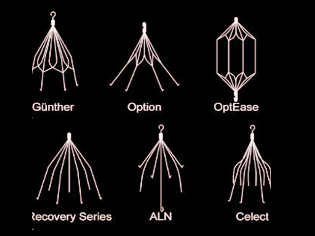 Types of IVC filters